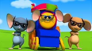 Video Bob The Train | Three Blind Mice | Nursery Rhymes | Kids Songs Rhymes by Bob The Train S02E01 download MP3, 3GP, MP4, WEBM, AVI, FLV Oktober 2017