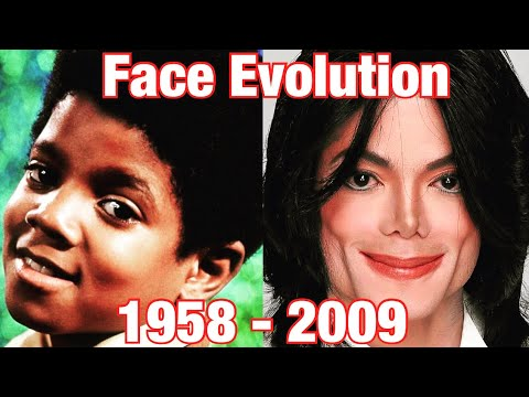 Download The Evolution Of Michael Jackson's Face (1958 - 2009) 0 to 50 Years Old