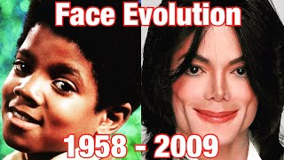 The Evolution Of Michael Jackson's Face (1958 - 2009) 0 to 50 Years Old