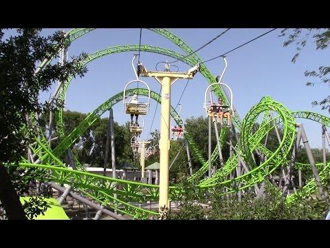 Adventureland Review Altoona Iowa Amusement Park Youtube
