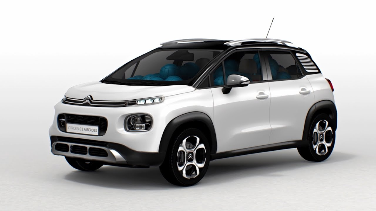 2018 citroen c3 aircross panoramic sunroof youtube. Black Bedroom Furniture Sets. Home Design Ideas