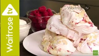 Will Torrent's Almond And Raspberry Meringues |  Waitrose