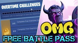 How do you get the fortnite battle pass FOR FREE ✅✅