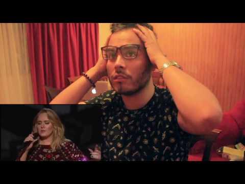 REACTION Performance Adele, HELLO  Grammys 2017