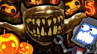 CHAPTER 5 FULL GAMEPLAY 🎃 Bendy and the Ink Machine ft. Fandroid The Musical Robot