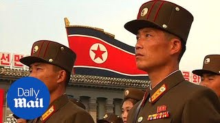 Mass rally in Pyongyang as North Korea celebrates nuclear test - Daily Mail