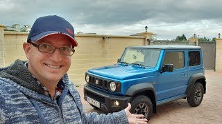 I picked up my new Suzuki Jimny!  First drive impressions - Vlog 124
