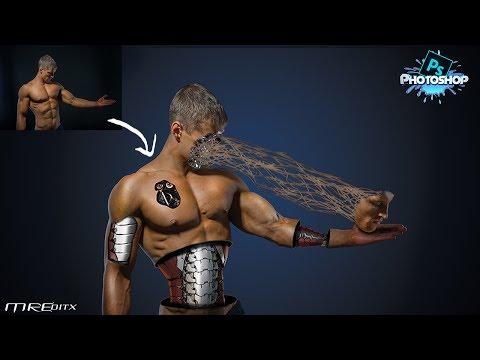 Human Cyborg/Terminator - Photoshop Manipulation Tutorial |MREditx|