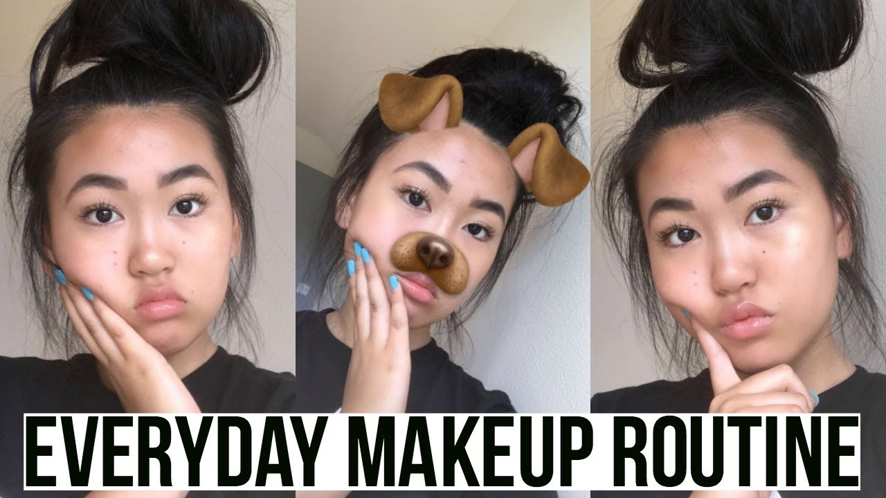 My Everday Lazy School Makeup Routine 7th Grade Youtube