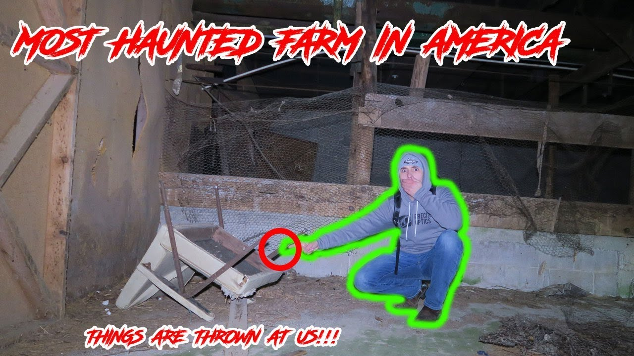 Escaping Haunted Honeycut Farm In The Middle Of The Woods Youtube