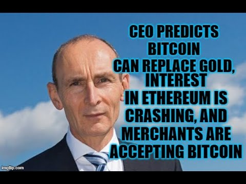 CEO Predicts BTC Can Replace Gold,Interest in Ethereum is Crashing  9/30/2020