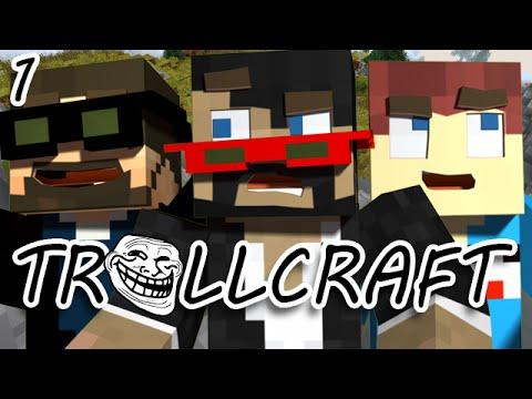 Minecraft: TrollCraft Ep. 1 - THE MADNESS BEGINS