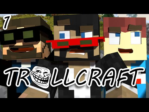 Minecraft: TrollCraft Ep  1 - THE MADNESS BEGINS