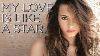 Demi Lovato -- My Love is Like a Star [Karaoke / Instrumental]