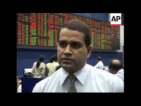 Stock market returns to normal after suicide bombing