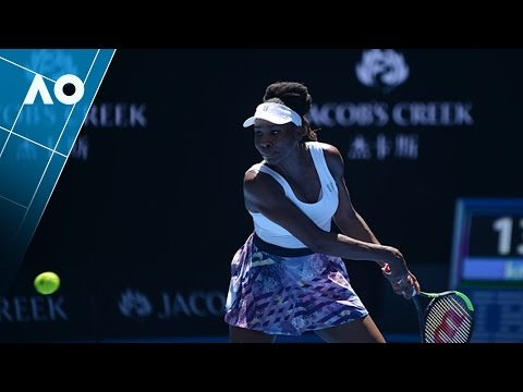 Williams v Kozlova match highlights (1R) | Australian Open 2017