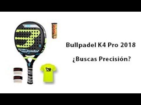 f1d58b684 Bullpadel K4 Pro 2018 - Pádel Ibérico - Ofertas de pádel - YouTube