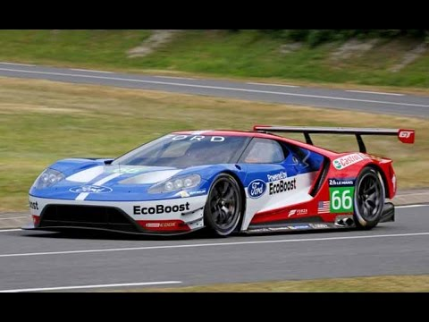 Ford Gt Race Car Track Testing Spy Video Youtube