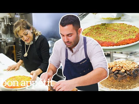 Andy Learns How to Cook Palestinian Food | Bon Appétit