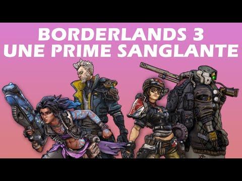 BORDERLANDS 3 - DLC : Une Prime Sanglante