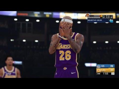 NBA 2K Fast break facial