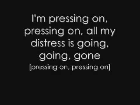 Pressing on- Relient K lyrics