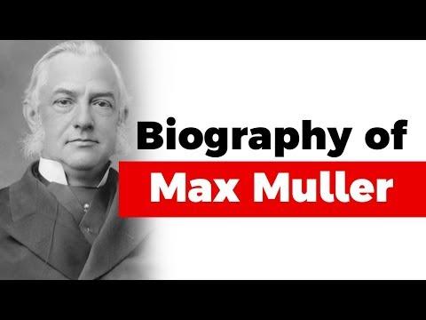Biography Of Max Muller, Sanskrit Scholar And Philologist, Professor Of Sanskrit At Oxford