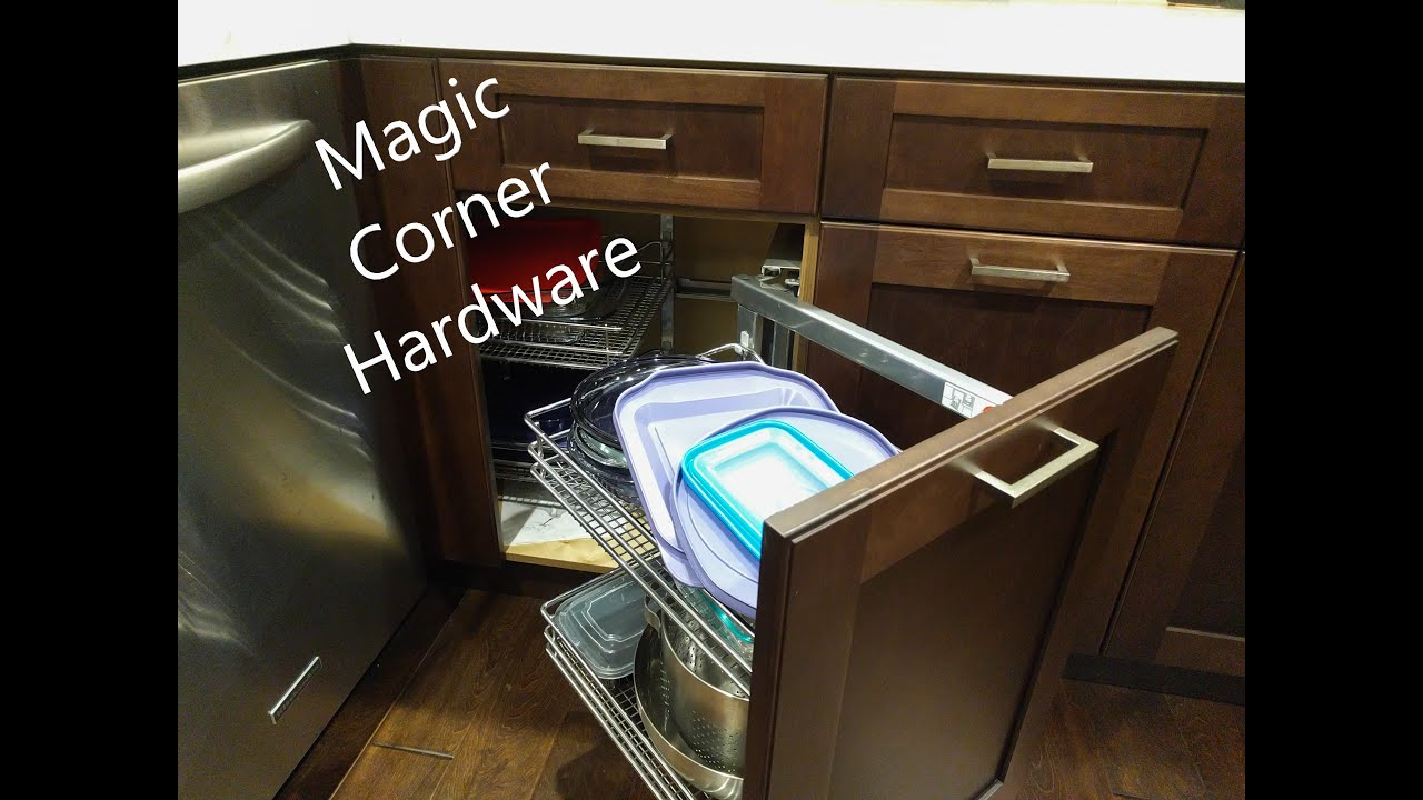 Base Blind Corner Cabinet, How To Fix Pull Out Corner Kitchen Cupboard Doors