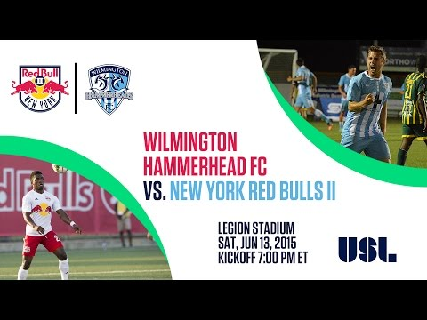 Livestream: New York Red Bulls II at Wilmington Hammerheads FC