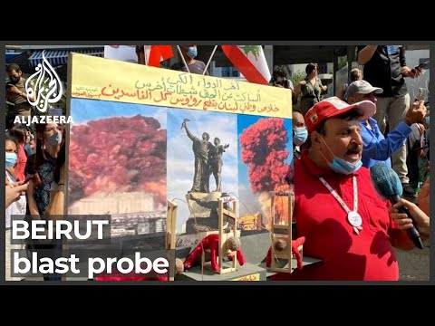 Beirut blast survivors protest against suspension of probe