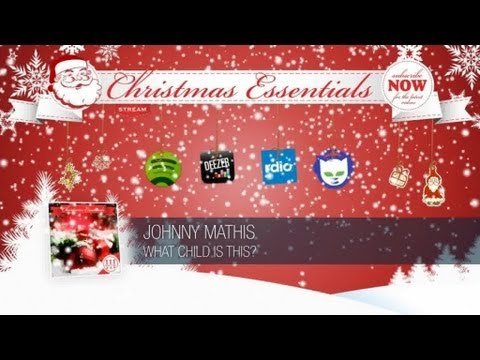 Johnny Mathis - What Child Is This? // Christmas Essentials