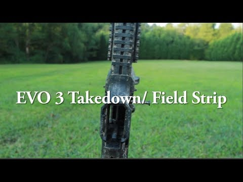CZ Scorpion Evo 3 S1 (PART 2) How to Field Strip for cleaning