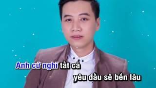 [Karaoke] Quá Khứ Anh Không Thể Quên (Remix) - Dương Minh Tuấn (Full Beat)