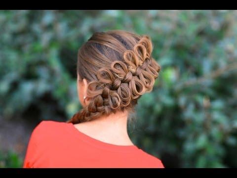 How to Create a Diagonal Bow Braid
