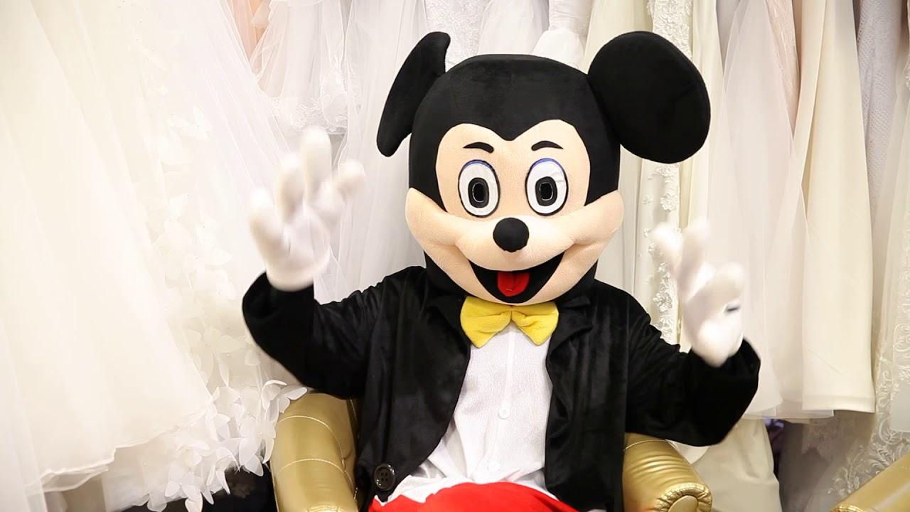 online store 4c2f1 c61cf FLASHMOB - Micky und Minnie Mäuse & ☆ HOCHZEIT ELEGANCE ☆ Exclusive Braut  und Abendmode in Augsburg