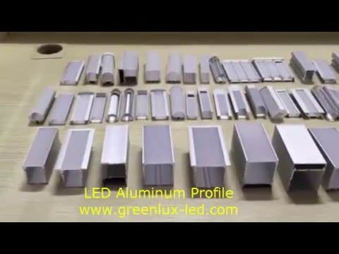 Greenlux Led Aluminum Profile Extrusion Channel For Led