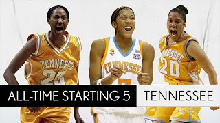 Tennessee women's basketball all-time starting 5