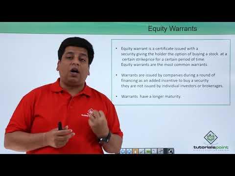 Equity Warrant
