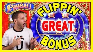 💲💲HIGH LIMIT w/ Great BONUS⚫⚪⚫Pinball Slots♨️Sizzling WILDS🎰San Manuel Casino ✦ BCSlots