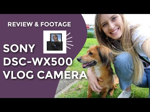 Sony DSC-WX500 Review And Footage | Best Cheap Beginnger Vlogging Camera With Flip Up Selfie Screen!