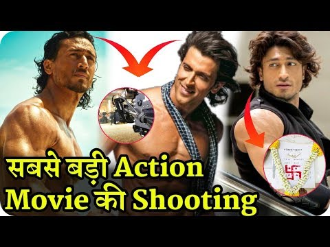 Hrithik Vs Tiger Action Movie and Vidyut Jammwal Commando 3 First Day Shooting Mp3