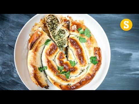 Crunchy Spiral Filo Pie Recipe
