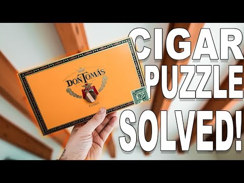 Solving the FAMOUS Cigar Box Puzzle!!