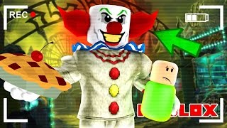 creepy clown traps us in a house in roblox