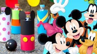 Mickey & Friends DIY Summer of Service Bowling Set | Disney Family
