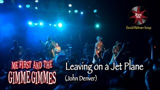 """Me First and The Gimme Gimmes """"Leaving on a Jet Plane"""" (John Denver) @ Sala Apolo (10/02/2017)"""