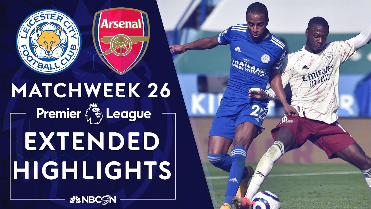 Leicester City v. Arsenal | PREMIER LEAGUE HIGHLIGHTS | 2/28/2021 | NBC Sports