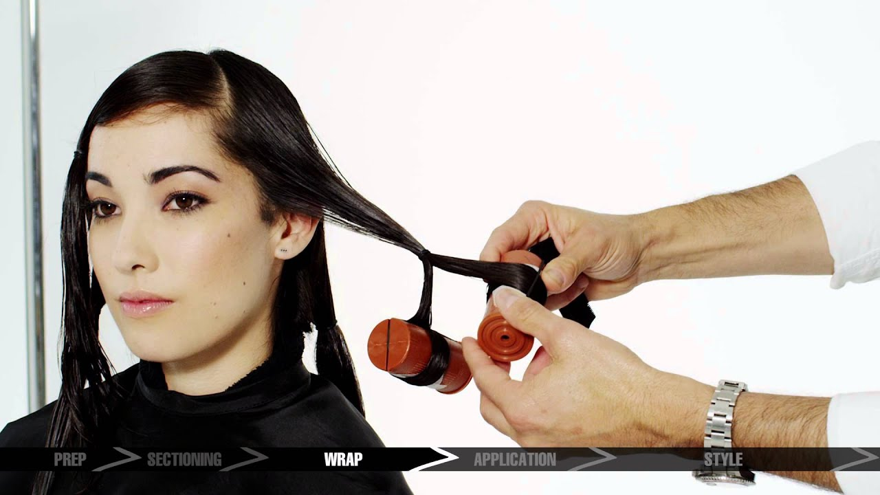Matrix New Style Wave Glam Wave Service How To Video Tutuorial Youtube