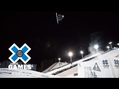 Marcus Kleveland wins Men's Snowboard Big Air silver | X Games Aspen 2018