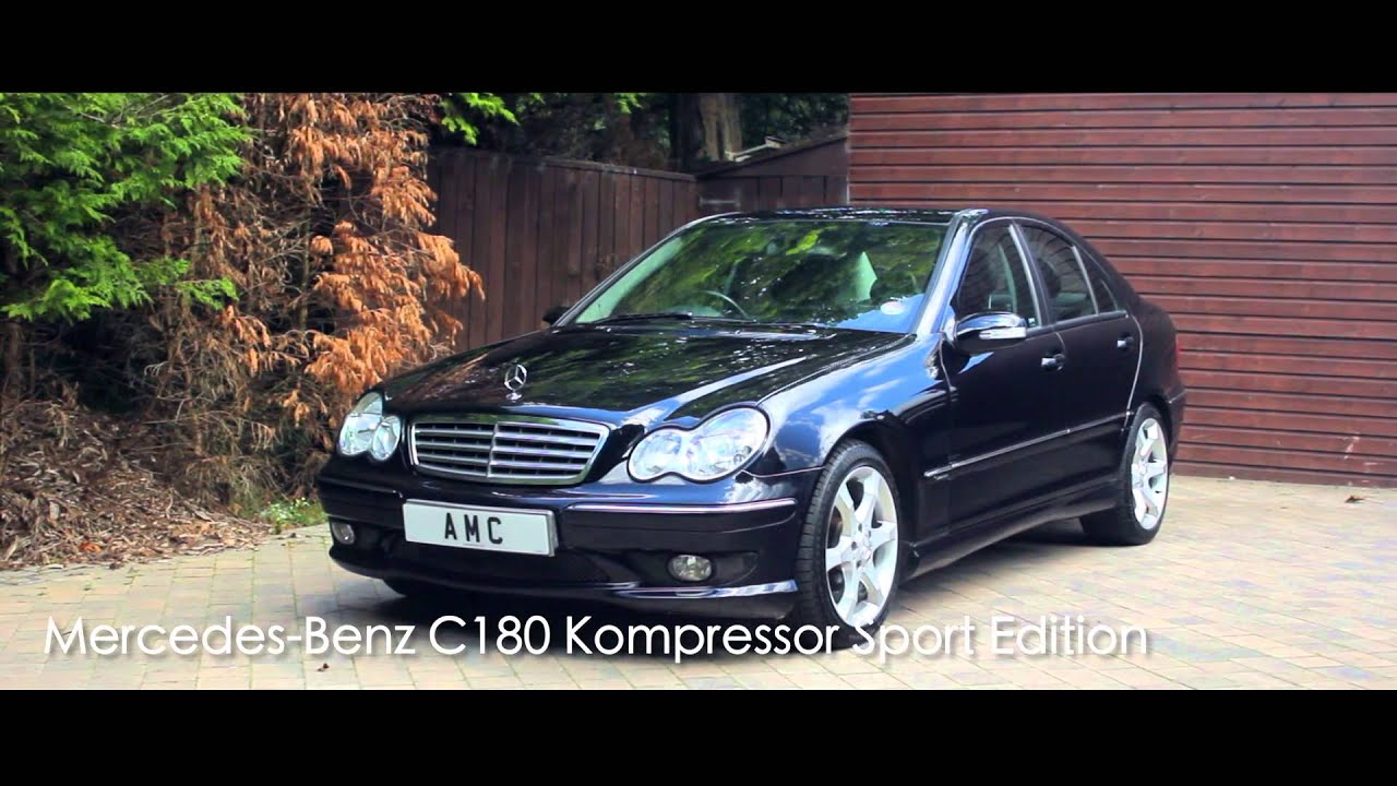 Mercedes Benz C180 Kompressor Sport Edition Youtube
